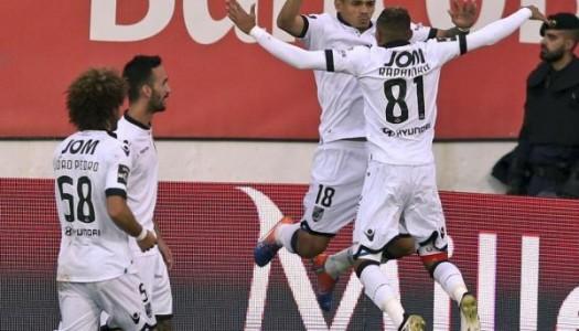 Vitória SC vence com classe na Amoreira