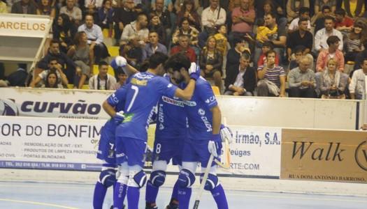 OC Barcelos em vantagem na Taça Continental