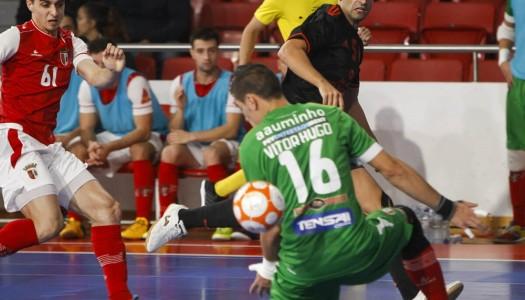 SC Braga/AAUM empata na Luz