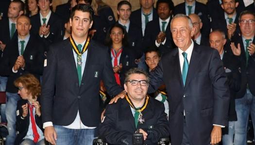 Paralímpicos minhotos condecorados por Marcelo