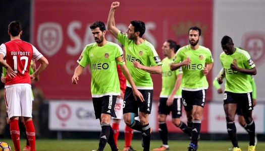"""SC Braga entra com o """"pé esquerdo"""" na Taça CTT"""