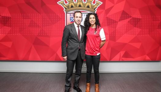 Melissa Antunes assina pelo SC Braga