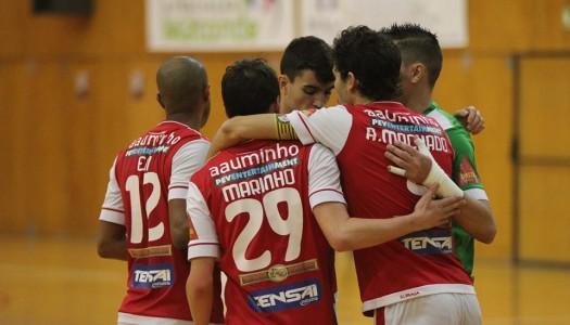 SC Braga/AAUM diz adeus à Taça da Liga de futsal