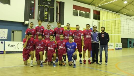 VC Viana volta a perder
