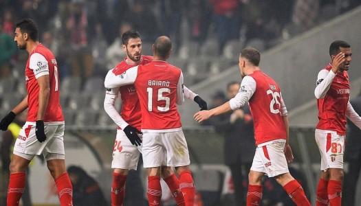 SC Braga vence na estreia de Jorge Simão
