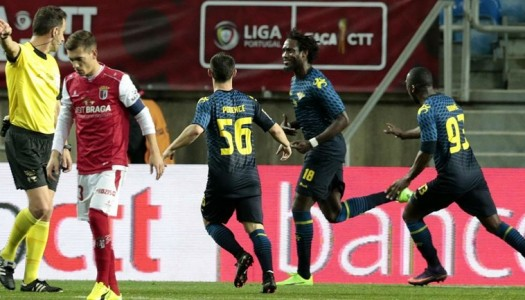 Destaques: Moreirense FC vs SC Braga (1-0)