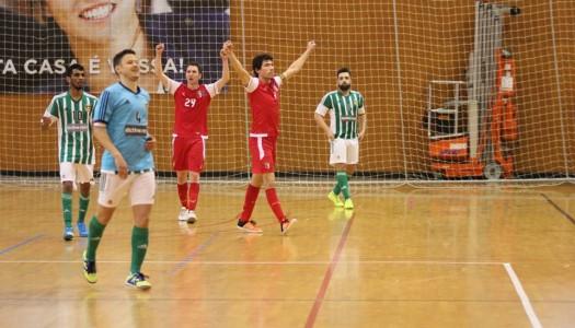 SC Braga/AAUM triunfa em jogo de loucos