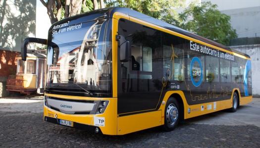 Autocarro elétrico testado em Braga