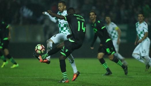 Moreirense deixa fugir vitória frente ao Sporting