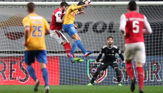 SC Braga falha ataque ao pódio