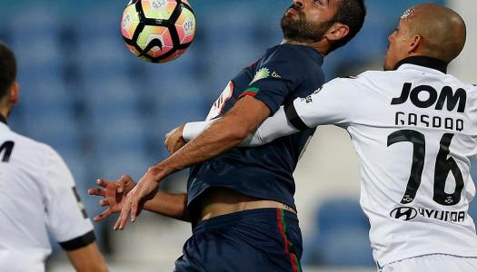 Vitória SC prolonga jejum de triunfos