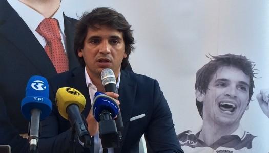 António Peixoto apresenta candidatura à presidência do SC Braga