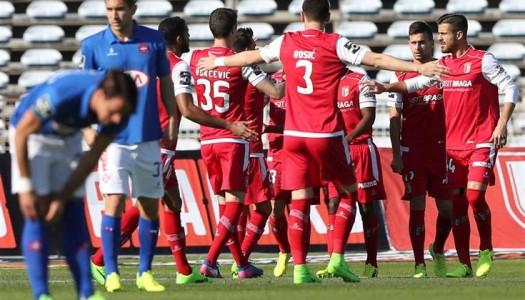 SC Braga vence no Restelo