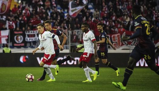 SC Braga empata a zero em Chaves