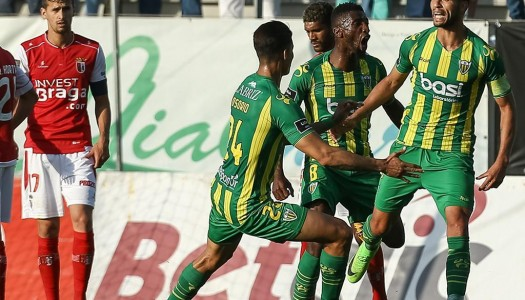 SC Braga incapaz de evitar festa do Tondela