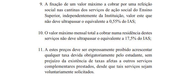"""Excerto do """"Programa de Governo do Movimento Nacional Estudantil para a XIII Legislatura"""""""