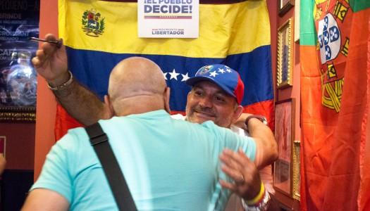 Este parte, aquela parte. Os venezuelanos que batem à porta do Minho