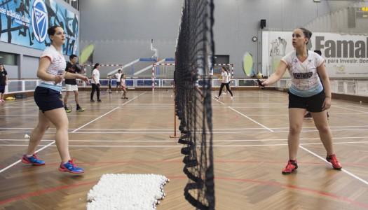 Irmãs Gonçalves ao volante do badminton nacional