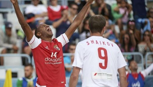 SC Braga é campeão nacional de futebol de praia