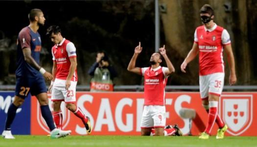 Golo tardio de Fransérgio dá liderança ao SC Braga