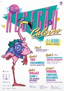 Cartaz da Receção ao Caloiro 2017