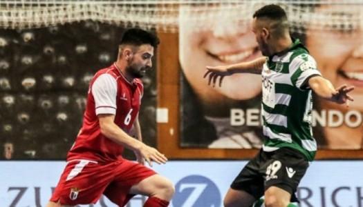 SC Braga/AAUM cai frente aos campeões nacionais