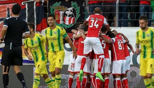 Vitória suada do SC Braga em Tondela