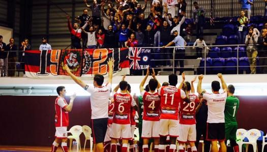 SC Braga/AAUM regressa às vitórias na Liga Sport Zone