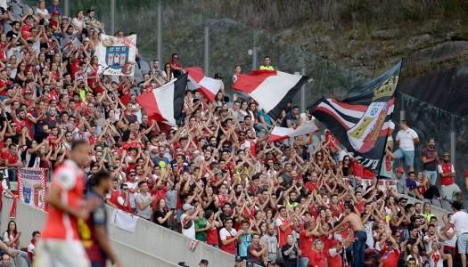 UEFA castiga SC Braga por práticas racistas dos adeptos