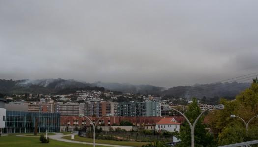 Incêndio de Braga em fase de rescaldo