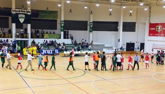 SC Braga/AAUM empata em Porto Salvo