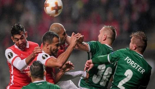 SC Braga surpreendido pela eficácia búlgara