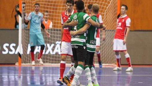 SC Braga/AAUM vs Sporting CP (destaques)