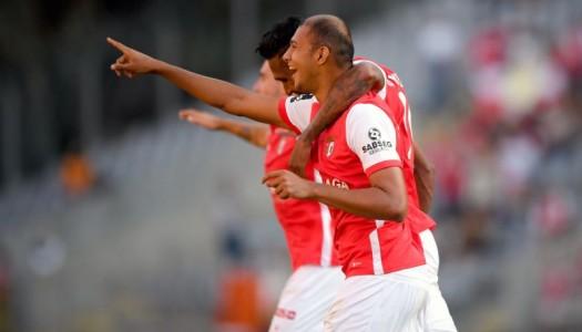"""SC Braga goleia Estoril com """"chapa seis"""""""
