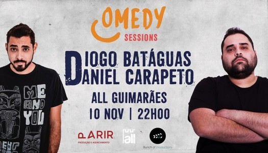 A comédia está de volta em Guimarães e Braga