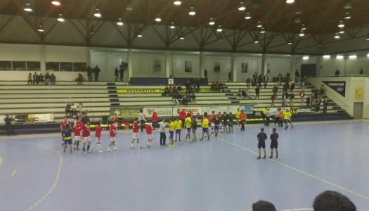 Xico Andebol derrotado frente ao SL Benfica