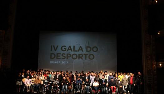IV Gala do Desporto de Braga homenageia melhores do ano