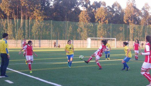 Futebol feminino: oito golos do SC Braga no adeus a 2017