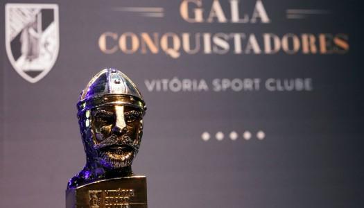 """""""Gala dos Conquistadores"""" premiou os melhores do ano do Vitória SC"""