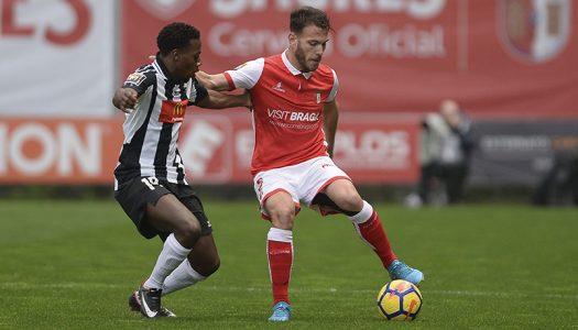 SC Braga empata no último jogo do ano