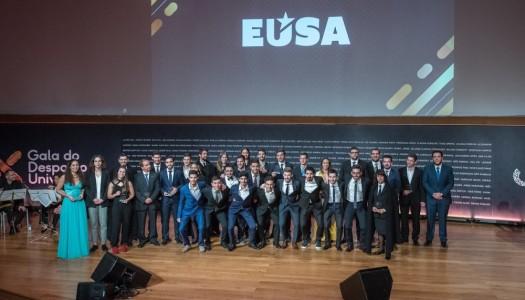 Atletas da Universidade do Minho premiados na X Gala do Desporto Universitário