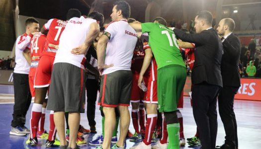 SC Braga/AAUM fora da Taça da Liga de Futsal