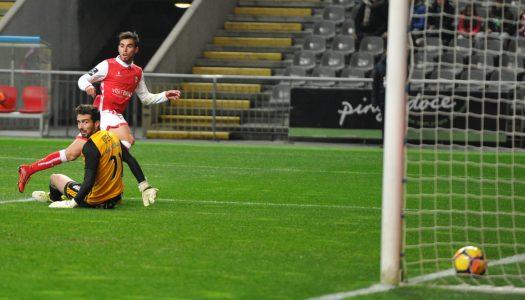 SC Braga reforça quarto posto com triunfo caseiro