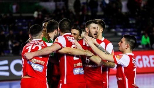 SC Braga/AAUM garante meias-finais após grandes penalidades