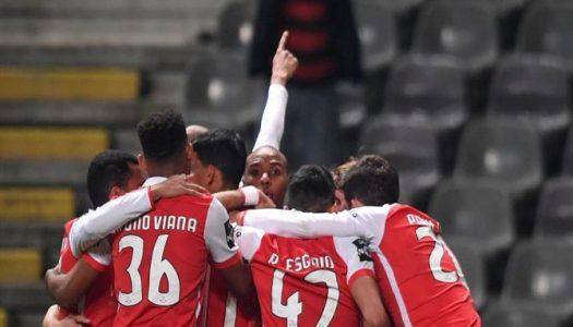 SC Braga recebe e vence Desportivo das Aves