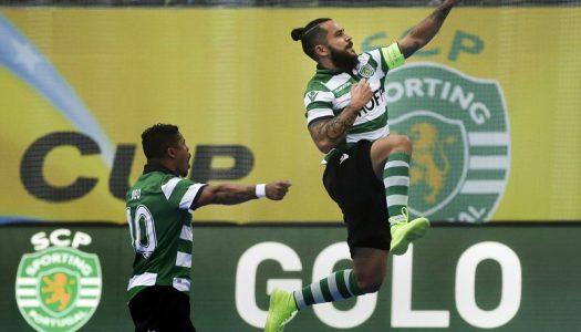 Sporting CP vs SC Braga/AAUM (destaques)