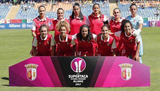 Oito jogadoras do SC Braga convocadas para a Algarve Cup