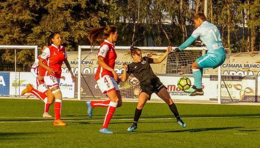 SC Braga vence pela margem mínima em Albergaria