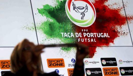 Taça de Portugal de futsal: Sortes distintas para as equipas minhotas