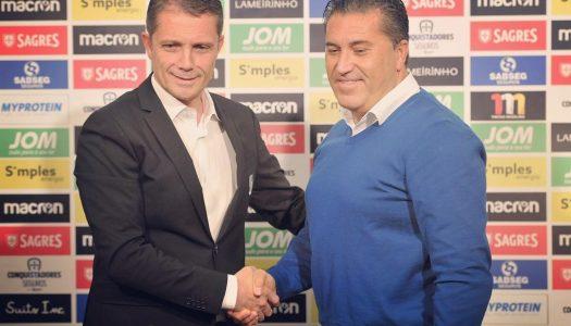 José Peseiro é o novo treinador do Vitória SC